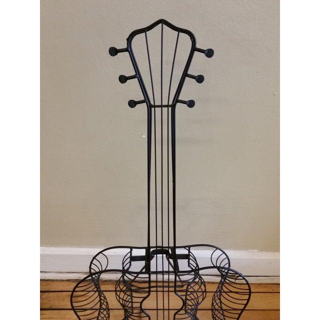 Image of Vintage Metal Guitar Sculpture