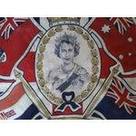 Image of Queen Elizabeth 1953 Coronation Flag
