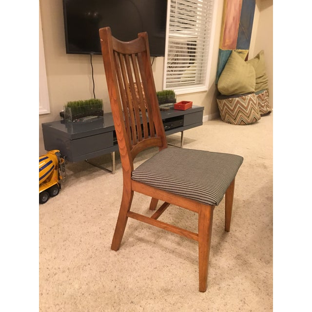 Mid-Century Modern High Back Dining Chairs - Set of 4 - Image 8 of 10