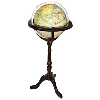 Rand-McNally Floor Globe