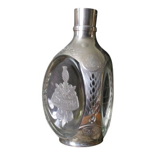 Haig Royal Dimple Pewter Decanter