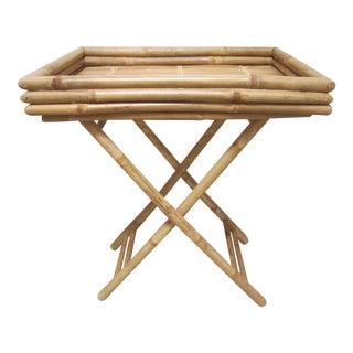 Bamboo & Rattan Table Tray