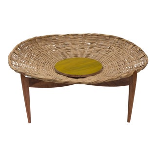 Solaria Mesa Canasta/ Basket Table Designed by Gabriela Valenzuela-Hirsch
