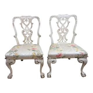 English Country House Chairs - A Pair