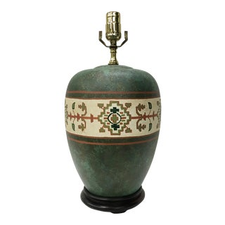 Vintage Hand Painted Ginger Jar Lamp