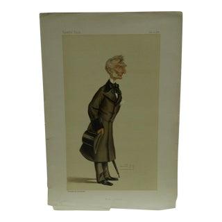 """Vintage """"Bow Street"""" Vanity Fair Print"""