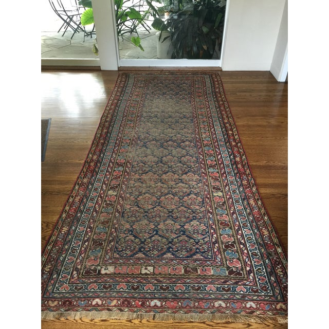 "Vintage Traditional Carpet Runner - 4'2"" x 10'4"" - Image 3 of 7"