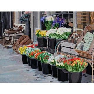 Contemporary Giclee Print - Buckets & Baskets