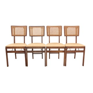 Stakmore Mid Century Dining Chairs - Set of 4