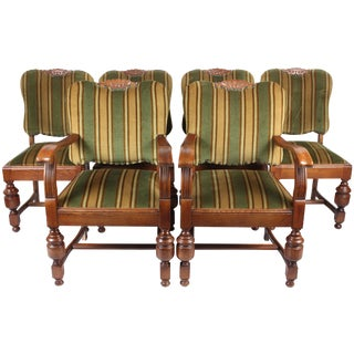 1940s Danish Dining Chairs - Set of 6