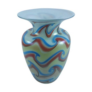Modern Art Glass Vase