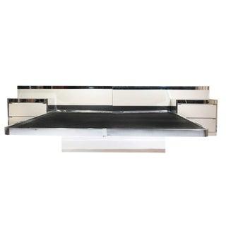 Ello Mid-Century Modern Illuminated Platform Bed