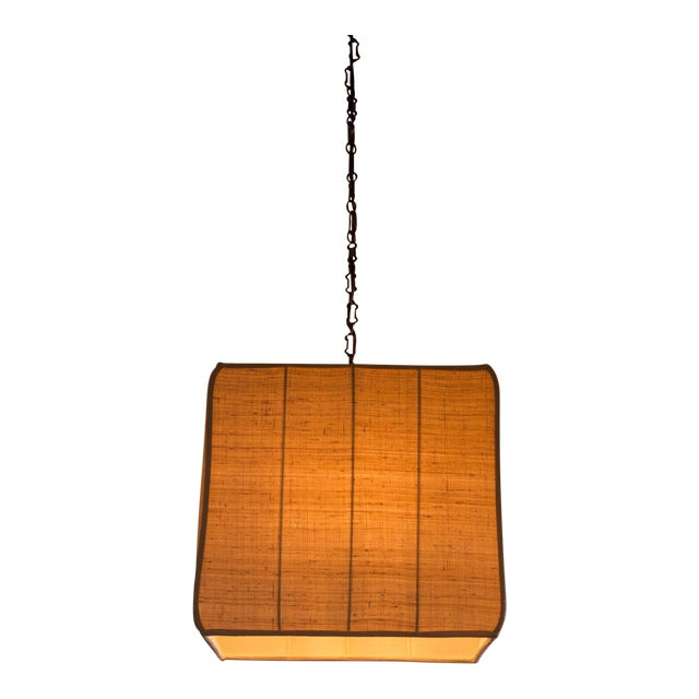 Paul Marra Asian-Inspired Four Light Shaded Pendant - Image 1 of 6