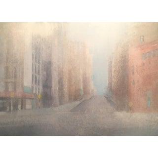 "Steve Klinkel ""Sunday Morning"" Watercolor Painting"