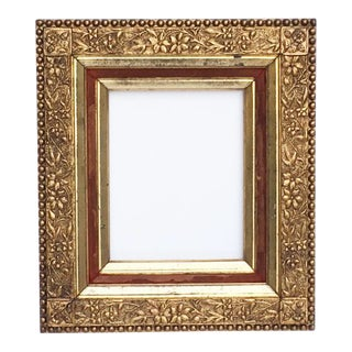 Victorian Carved Gold Frame