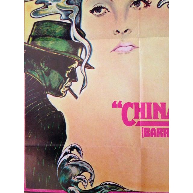 Original Vintage Spanish Chinatown Poster - Image 2 of 2