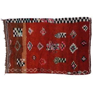 Vintage Moroccan Rug - 5′5″ × 8′
