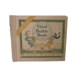 Antique 1918 Childs Book Third Bubble W Records