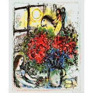 Marc Chagall La Chevauchee (The Ride) 1979 Lithograph