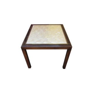 Michael Taylor for Baker Abalone Top Side Table