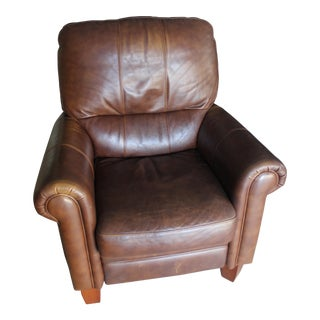 Ethan Allen Leather Recliner