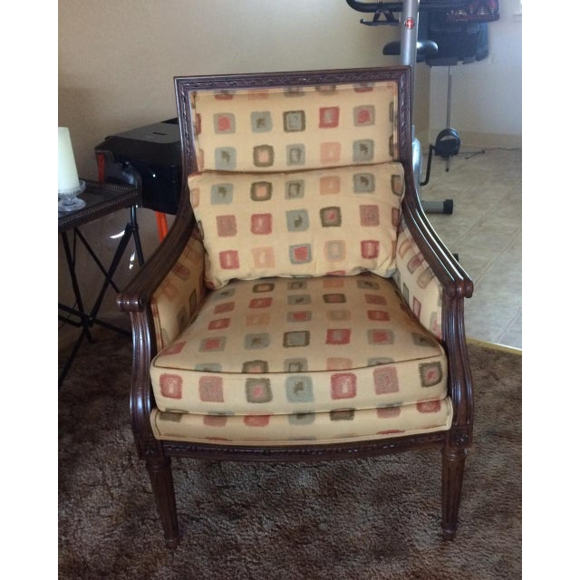 Ethan Allen Neoclassical Style Accent Chairs- Pair - Image 3 of 7