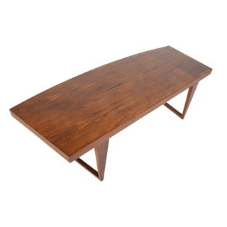"Leif Hansen ""Geisha"" Rosewood Coffee Table"
