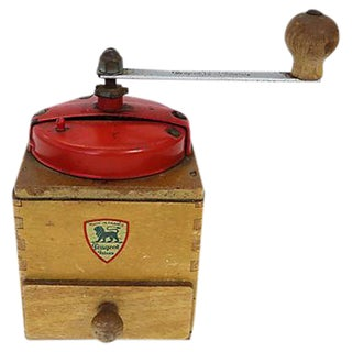 Vintage French Peugeot Coffee Grinder