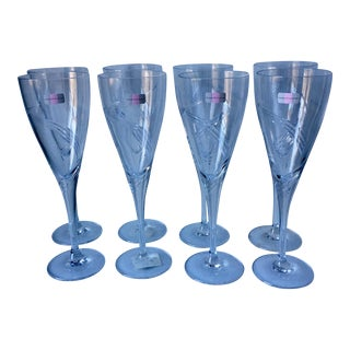 Stuart Crystal Symphony Wine Glasses - Set of 8