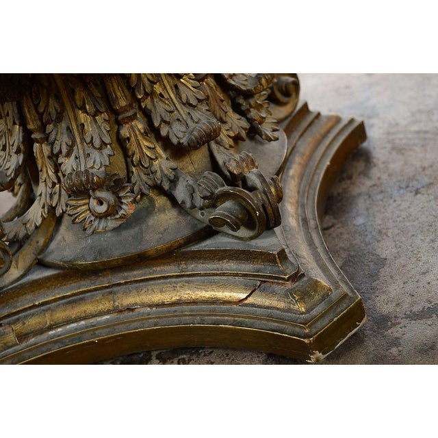 Venetian End Tables with Rococo Pedestals - A Pair - Image 11 of 11