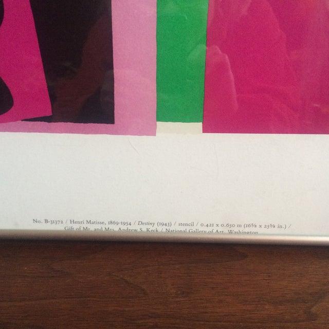 Image of Matisse Destiny 1943 Framed Poster