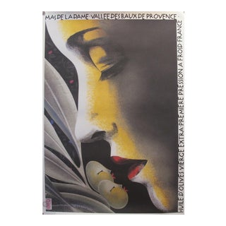 Contemporary Philippe Sommer Olive Oil Poster