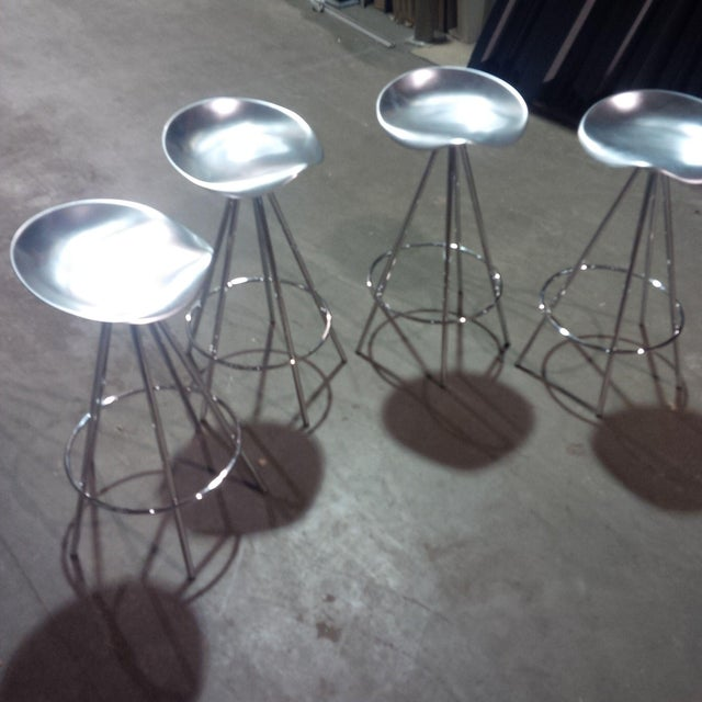 Knoll Jamaica Counter Stools by Pepe Cortes - Set of 4 - Image 2 of 6