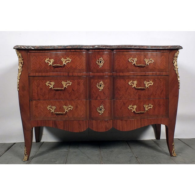 Antique 1900s French Louis XV-Style Commode - Image 2 of 11