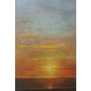 Sunset on the Ocean by Evelyn Valdivia
