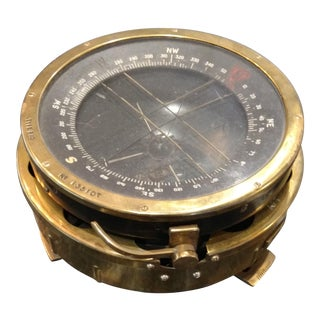 British Nautical Brass Compass