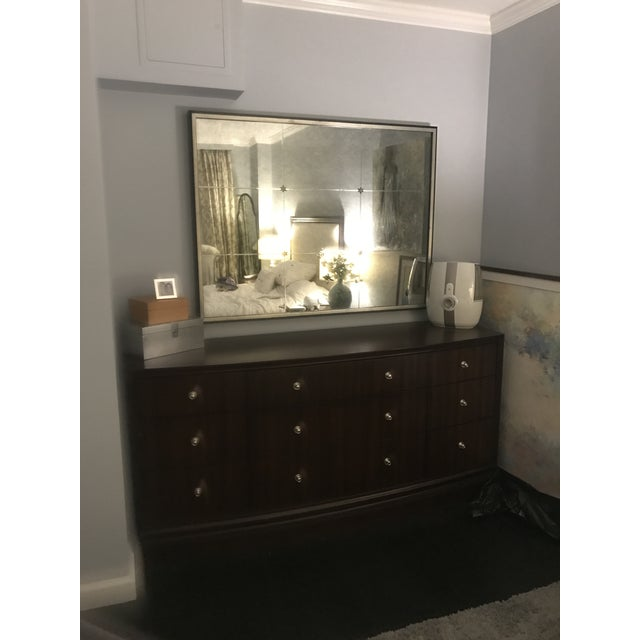 Ethan Allen Rosette Wall Mirror - Image 4 of 4