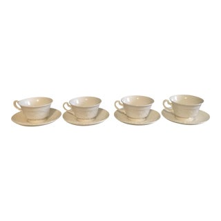 Wedgwood Cups & Saucers - Set of 4