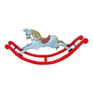 Antique Rocking Hobby Horse