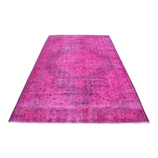 Pink Overdyed Turkish Rug