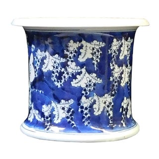 Chinese Blue & White Porcelain Butterfly Bowl