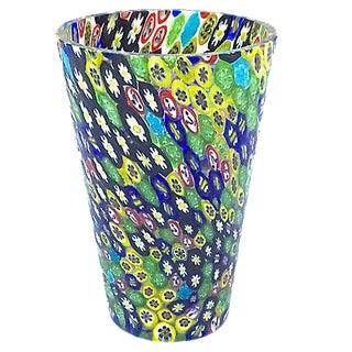Murano Vintage Italian Millefiore Vase
