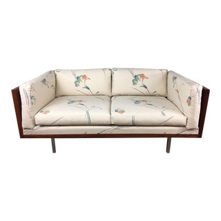 Rosewood Low Back Love Seat by Komfort