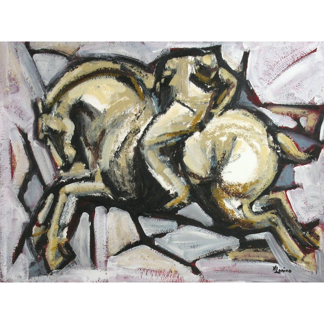 Polo VI Painting by Heidi Lanino - Image 2 of 2