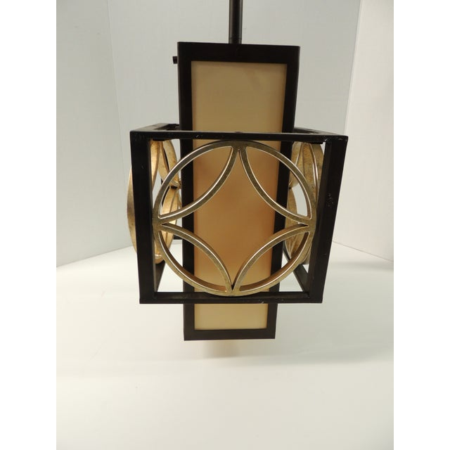 Formation Style Square Hanging Lantern - Image 2 of 5