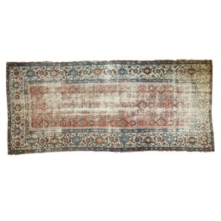 Antique Malayer Rug Runner - 4′10″ × 11′