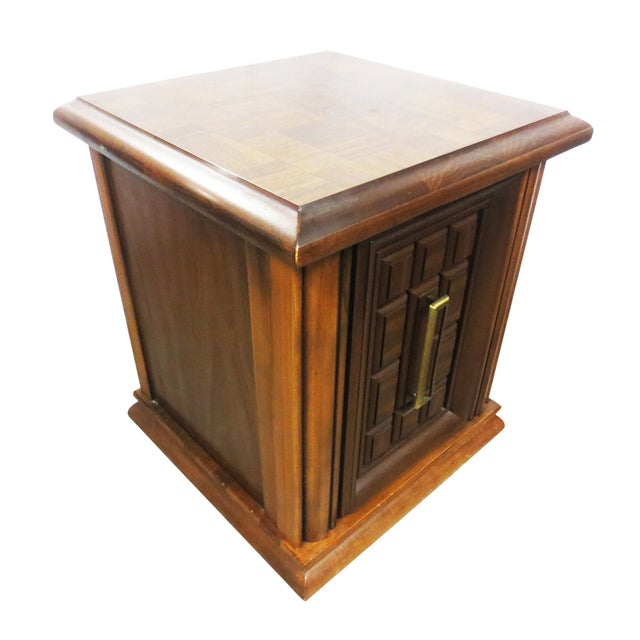 Image of Mersman Side Tables or Nightstands - A Pair