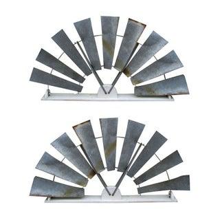 Giant Windmill Decorative Elements- Pair