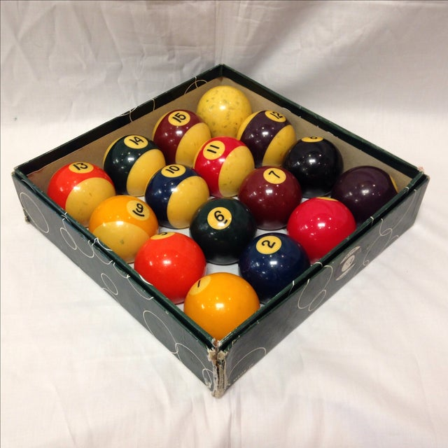 Image of Vintage Belgian Aramith Billiard Pool Balls