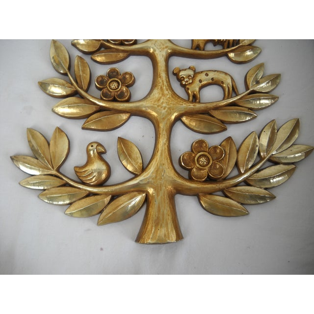 "Syroco Vintage ""Tree of Life"" Plaque - Image 6 of 8"
